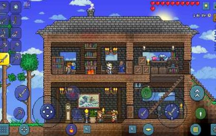 Terraria 2.974 Apk + Mod (a lot of things) + Data Android